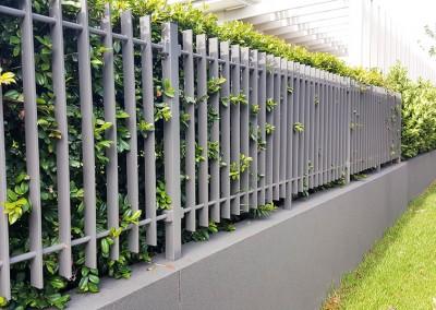 front aluminium fencing